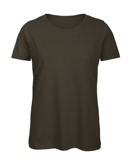 Inspire T/women T-Shirt XS Khaki Green