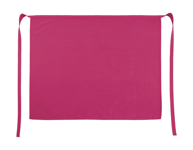 Rome Medium Length Bistro Apron One Size Pink