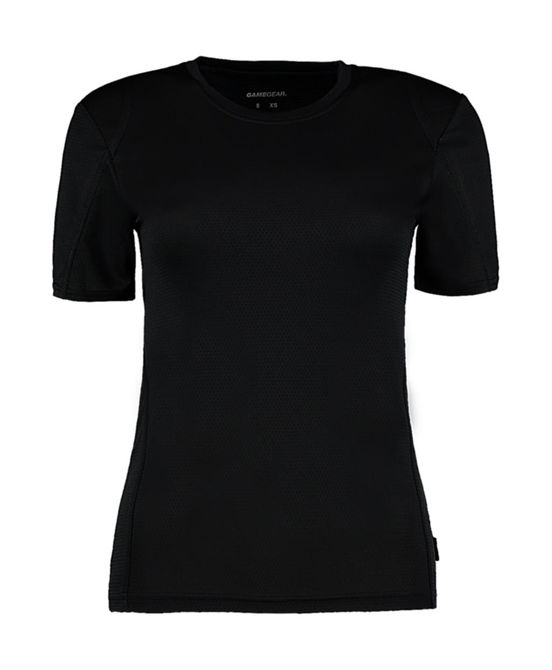 Gamegear® Cooltex® Ladies` T-Shirt Black/Black XS (8)