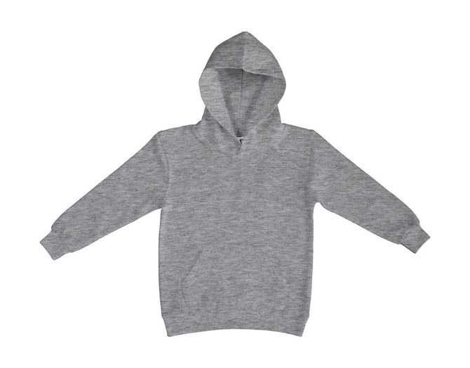 Kids` Hooded Sweatshirt 152 (11-12/2XL) Light Oxford