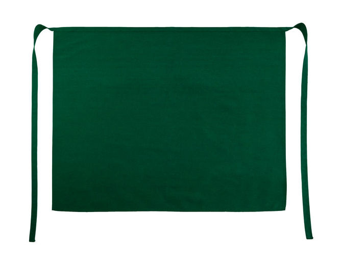 Rome Medium Length Bistro Apron One Size Bottle Green