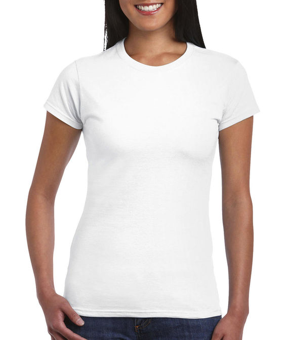 Ladies` Fitted Ring Spun T-Shirt