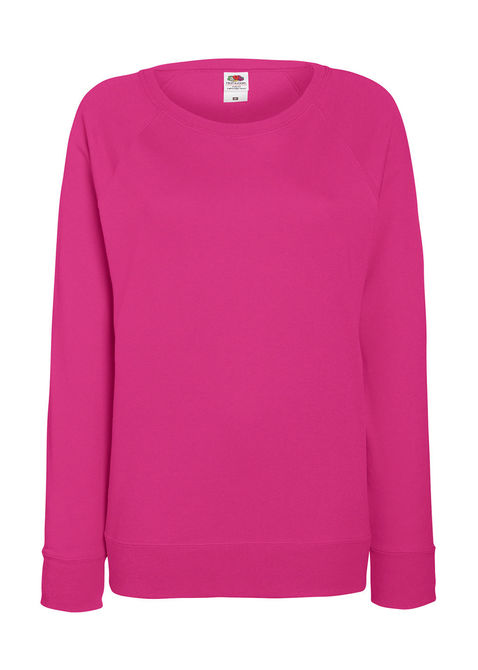 Lady-Fit Lightweight Raglan Sweat