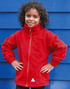Kids` Fleece Jacke