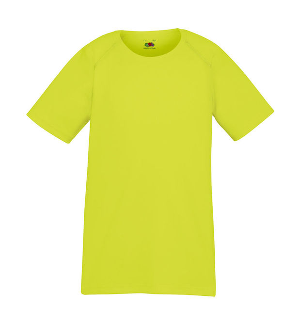 Kids Performance T 164 (14-15) Bright Yellow
